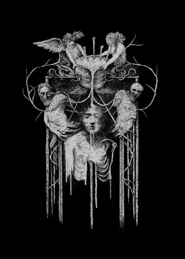 Deathspell Omega Molten Bones Print