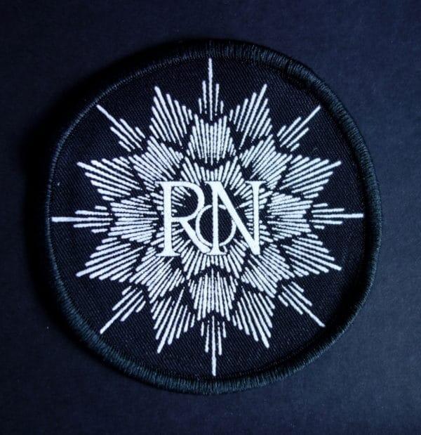 Rebirth of Nefast white logo patch
