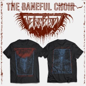 The Baneful Choir Tee Shirt Preview