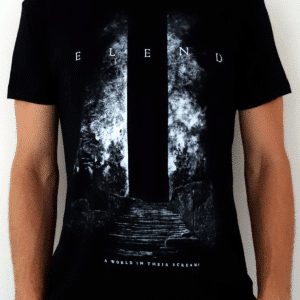 Elend-a-world-in-their-screams-tee-shirt-front