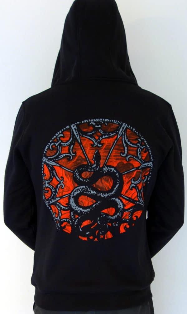 Deathspell-omega-paracletus-hoodie-back