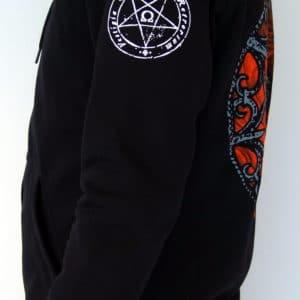 Deathspell-omega-paracletus-hoodie-left-side